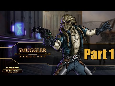 Star Wars The Old Republic Smuggler Gameplay Walkthrough Part 1 – I Want My Ship!