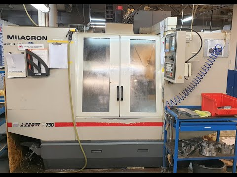 CNC Vertical Machining Center CINCINNATI MILACRON ARROW 750 1995
