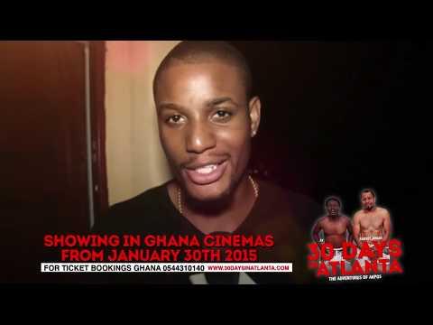 Celebreties Endorse 30 DAYS IN ATLANTA Ghana Premiere