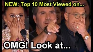 Video #1 NEW: Top 10 Most Viewed America's Got Talent Auditions! MP3, 3GP, MP4, WEBM, AVI, FLV Maret 2019
