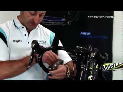Rennrad Lenkerband 2-farbig wickeln