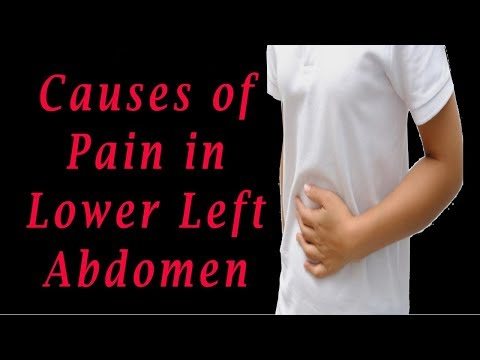 Abdominal Pain Left Side | Causes of Pain in Lower Left Abdomen