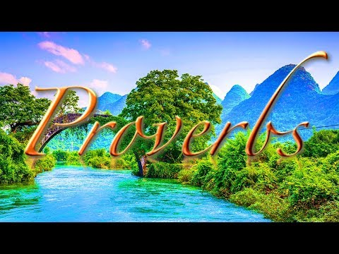 King Solomon Wise saying - BOOK OF PROVERBS AUDIO BIBLE  Enhanced