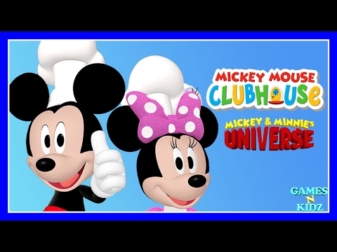 Mickey Mouse Clubhouse: Mickey & Minnie Cooking - All Outfits - Disney Junior Game For Kids