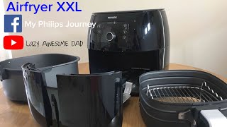 BEST Unboxing Philips AirFryer XXL Avance Collection BLACK HD965191