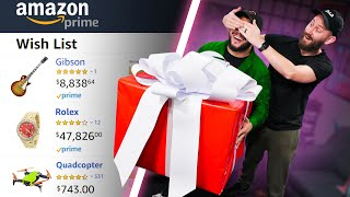 I Bought 10 Friends A Mystery Gift From Their Amazon Wishlists!