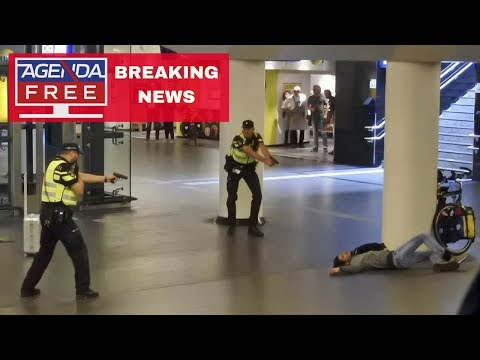 2 Americans Stabbed in Amsterdam Terror Attack - LIVE BREAKING NEWS COVERAGE