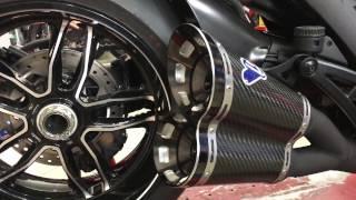 4. Ducati Diavel Titanium con scarico Termignoni Completo