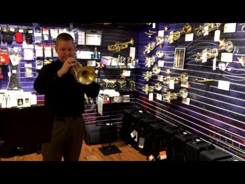 Adams A4 Trumpet Demo - The Trumpet Shop