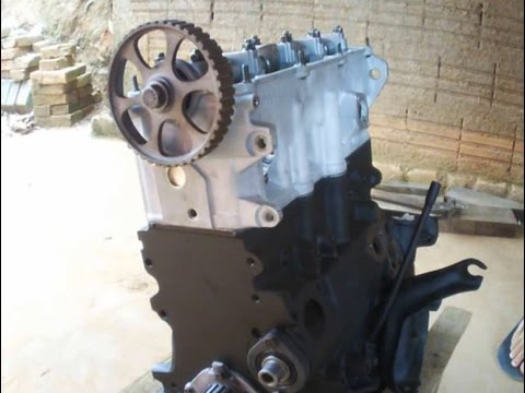 montando o cabeçote do motor AP