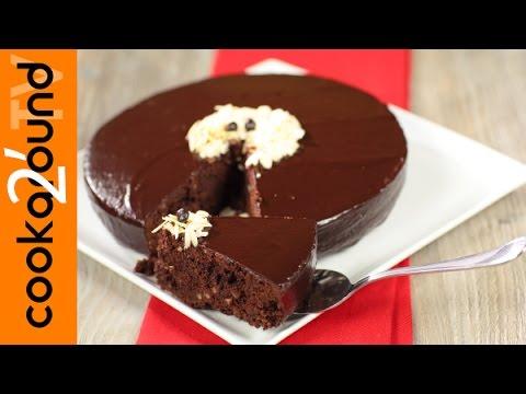 torta al cioccolato glassata- ricetta