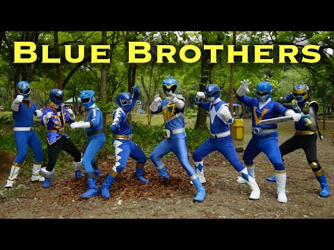 The Blue Brothers [FOREVER SERIES] Power Rangers | Super Sentai