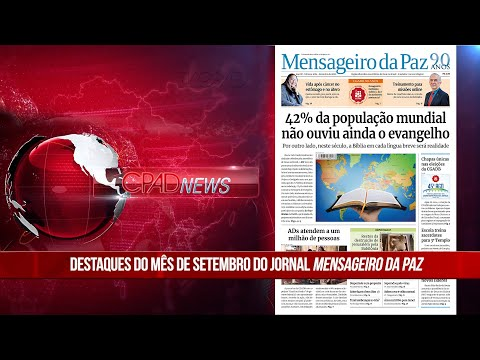 Boletim Semanal de Notícias - CPAD News 185