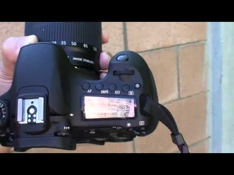 CANON EOS 60D DSLR camera – ACTION PHOTOGRAPHY (Tutorial video)