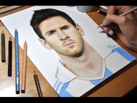 Drawing Lionel Messi