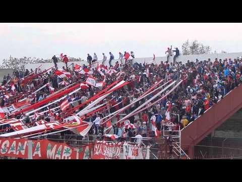 los andes. hinchas de #losandes vs all boys - La Banda Descontrolada - Los Andes