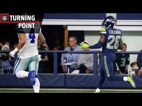 Video: Coleman's Pick 6 Crushes Cowboys' Playoff Hopes (Week 16) | NFL Turning Point