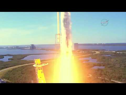 Liftoff! SpaceX Cargo Mission Heads to the International Space Station_Űrhajó videók