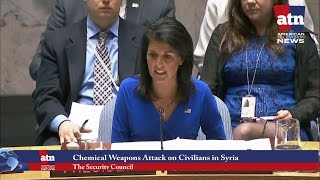 Security Council Holds an Emergency Meeting on Recent  Chemical Weapons Attack on Civilians in Syria