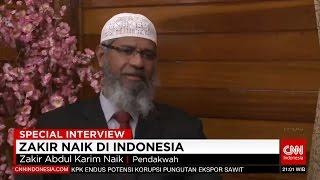 Video Dr Zakir Naik di Indonesia - Eksklusif CNN Indonesia MP3, 3GP, MP4, WEBM, AVI, FLV Februari 2018