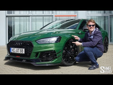280km/h Abt Rs5-r Test Drive On The Autobahn! | Review