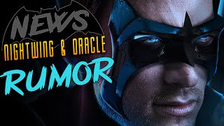 BAT NEWS: Nightwing and Oracle in SOLO Batman film?
