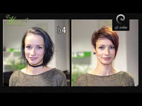 Hairstyles for short hair - short pixie haircut women, ombre hair, undercut hairstyle, 2018 makevover by Alisha Heide