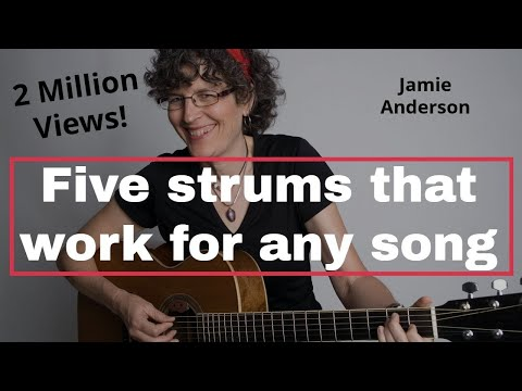 Five strum patterns that will work for almost any song