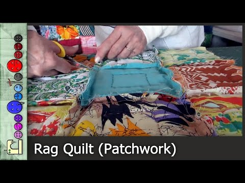 "patchwork - come si esegue il ""rag quilt"""