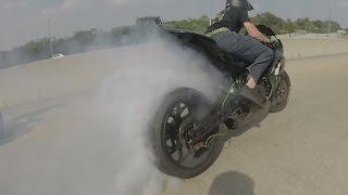 8. AMAZING Motorcycle DRIFTING Bike DRIFT GYMKHANA High Speed MOTO DRIFTER Suzuki GSXR 1000 DRIFTS 2015