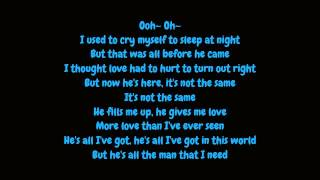 Video Whitney Houston - All The Man I Need (Lyrics HD) MP3, 3GP, MP4, WEBM, AVI, FLV Agustus 2018