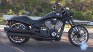 5. Used 2012 Victory Hammer 8 Ball Motorcycle for sale in Florida