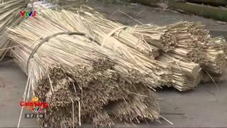 [Cafe Sáng Vtv3 HD] - Cách đan Giỏ Hoa Bằng Cây Tre-26-11-2014