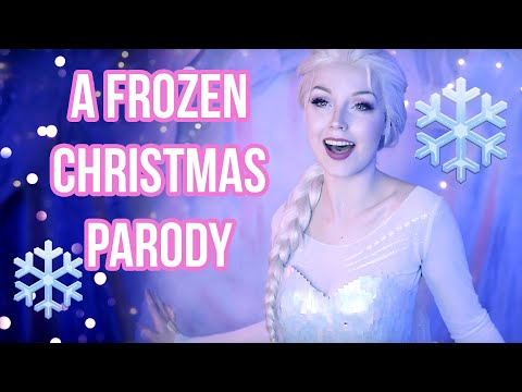 Freeze The Halls - A Frozen Christmas Parody