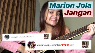 Video Marion Jola - Jangan (Short Cover) | #coverinday MP3, 3GP, MP4, WEBM, AVI, FLV Juni 2018