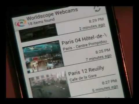 Video of Worldscope Webcams