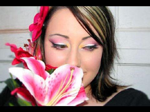 MAC Makeup: Pink Lilies Inspired