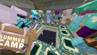 Minecraft | SUMMER CAMP! - EYE OF ENDERS!! [16]