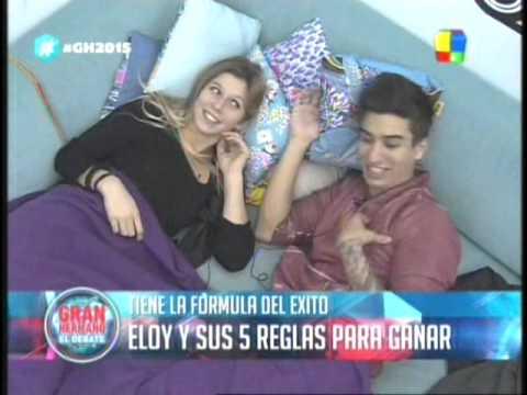 Romina y Eloy, dos pavos en apuro GH 2015 #GH2015 #GranHermano