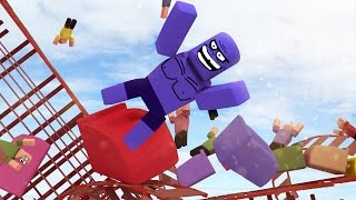 Roblox | ROLLER COASTER CRASHES: Theme Park Tycoon In Roblox! (Roblox Adventures)