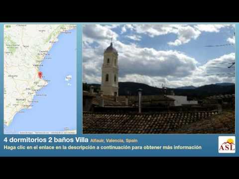 4 dormitorios 2 baños Villa se Vende en Alfauir, Valencia, Spain