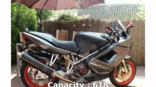 8. 2005 Ducati ST 4S -  motorbike Features Transmission Engine Top Speed Dealers Specification