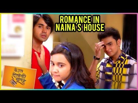 Sameer & Naina CUTE ROMANCE In Naina's House   Yeh