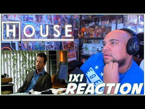 """House REACTION Season 1 Episode 1 """"Pilot"""" 1x1 Reaction!!!"""