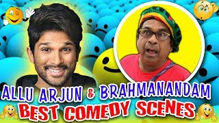 Video Allu Arjun & Brahmanandam Best Comedy Scenes   South Indian Hindi Dubbed Best Comedy Scenes MP3, 3GP, MP4, WEBM, AVI, FLV Desember 2018