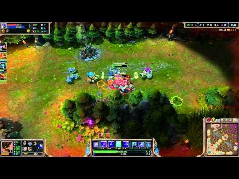 Mecha Malphite Full Game Play Vs Bots (видео)