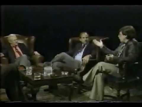 Science Fiction - Isaac Asimov, Harlan Ellison, and Gene Wolfe discuss science-fiction writing with Studs Terkel and Calvin Trillin on the Alpha Repertory Television Service (...