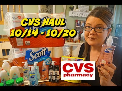 CVS COUPONING HAUL 10/14 - 10/20 | MM JOHNSON'S BABY, 66¢ DIAL & MORE!