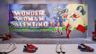 Valentino collaboration with Italian street artist Solo timelapse