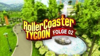 [Rollercoaster Tycoon World 4] Let's Play - Folge 2 - Grün, grüner, Kopfsalat!